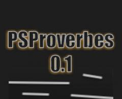 PSProverbes 0.1