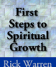 First Steps to Spiritual Growth