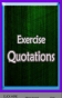 Exercise-quotes