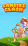 Candies clash