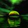 Green Fantasy Lake Live Wallpaper