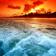 Shimmering Ocean Wallpaper