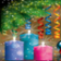 Christmas Snow Candles LWP