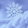 Snowflake 3D at rain Live WP