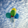 Sky with balloons Live Wallpaper