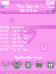 I Heart U (Pink) 8220/Flip Pearl Theme