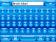 Arctic Blue Skin for SPB Keyboard