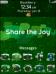 BlackBerry Exclusive Holiday Theme - Share The Joy