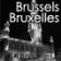 Map of Brussels (Bruxelles) / Belgium (Belgique) for City Advisor