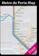 Metro de Porto Map