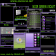Noir Green Violet Theme