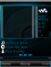 Walkman Exus Sapphire Skin for KD Player
