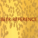 Beer Reference