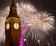 big ben and fireworks