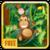Crazy Monkey In Jungle