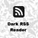Dark RSS Reader