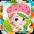 Elsa As Strawberry Shortcake