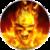 Fire Skull LWP