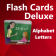 Flash Cards Deluxe-Alphabet