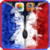 France Zipper Lock Screen HD