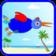 Funny Bird. At the beach
