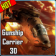 Gunship Carrier Helicopter 3D