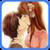 Hot Anime Kissing Love Sticker