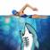 Hungry Man vs Shark