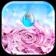Water Ripple Flowers Live Wallpaper