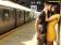 kiss on subway