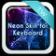 Neon Skin For Keyboard