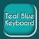 Teal Blue Keyboard