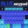 Keypad Blue Type