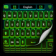 Color Keyboard Neon Green Free