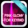 Pink Glow For Keypad