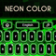 Keyboard Skin Colors Neon
