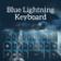 Blue Lightning Keyboard