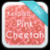 Keypad Pink Cheetah Theme
