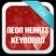 Neon Hearts Keyboard Theme