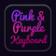 Keyboard Pink And Purple
