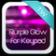 Purple Glow for Keypad