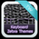 Keyboard Zebra Themes