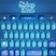 Shiny Blue Keyboard