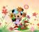 Minnie e flores