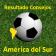 Resultado Consejos CONMEBOL