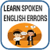 Spoken English Errors