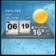 3D Digital Weather Clock