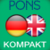 Dictionary English - German CONCISE by PONS