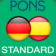 Dictionary Spanish-German-Spanish STANDARD by PONS (Android)