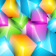 Colored Crystal Cubes
